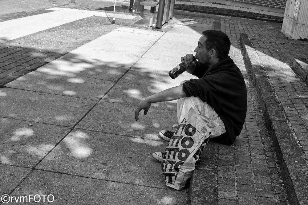 Photo in Street Photography #beer #man #street #summer #pavement