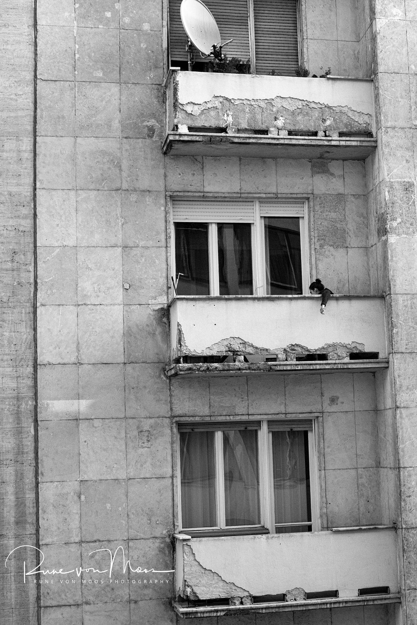 Balconies in Budapest by rvmFOTO