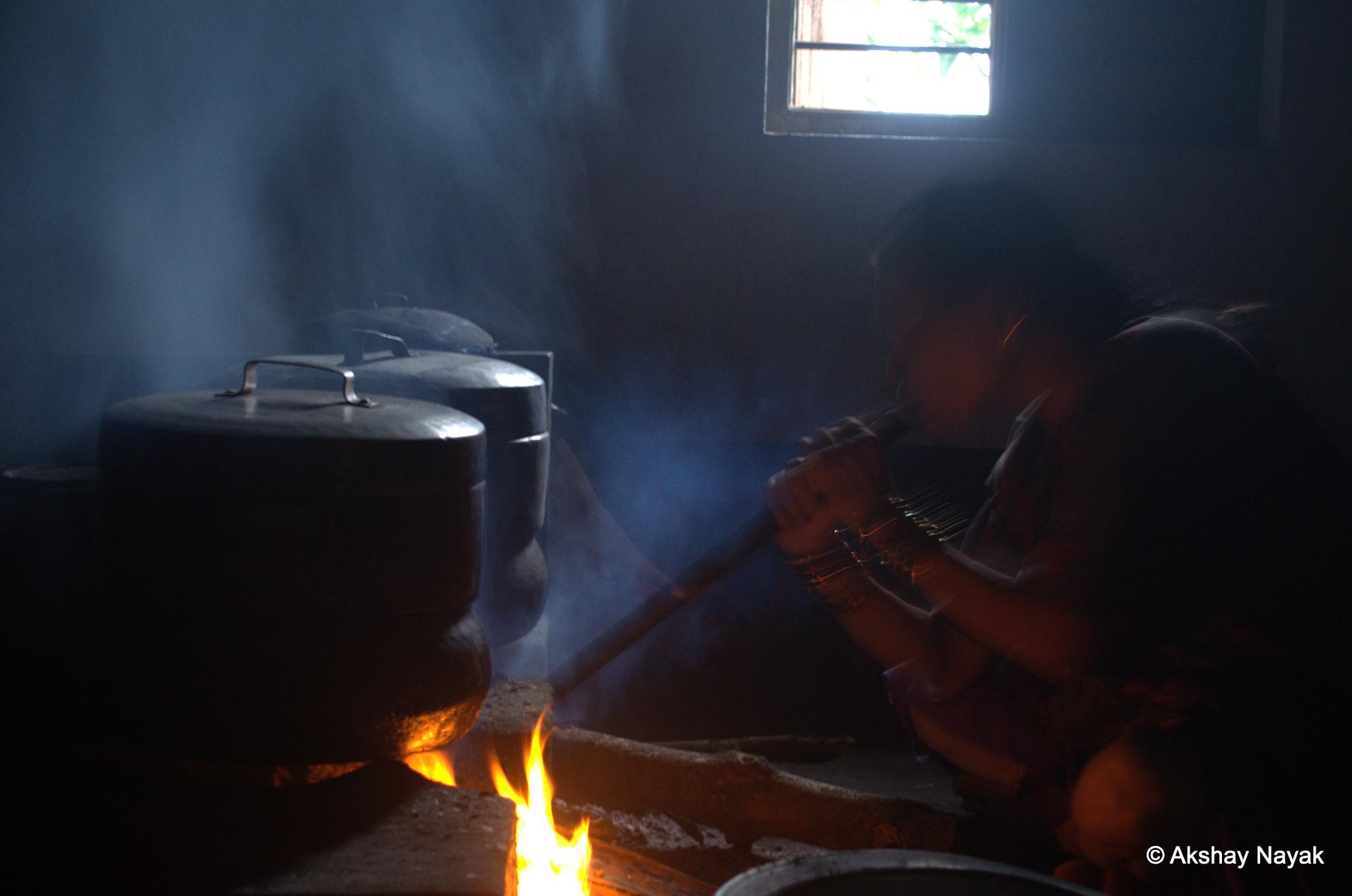 Cooking Food by Akshay Nayak