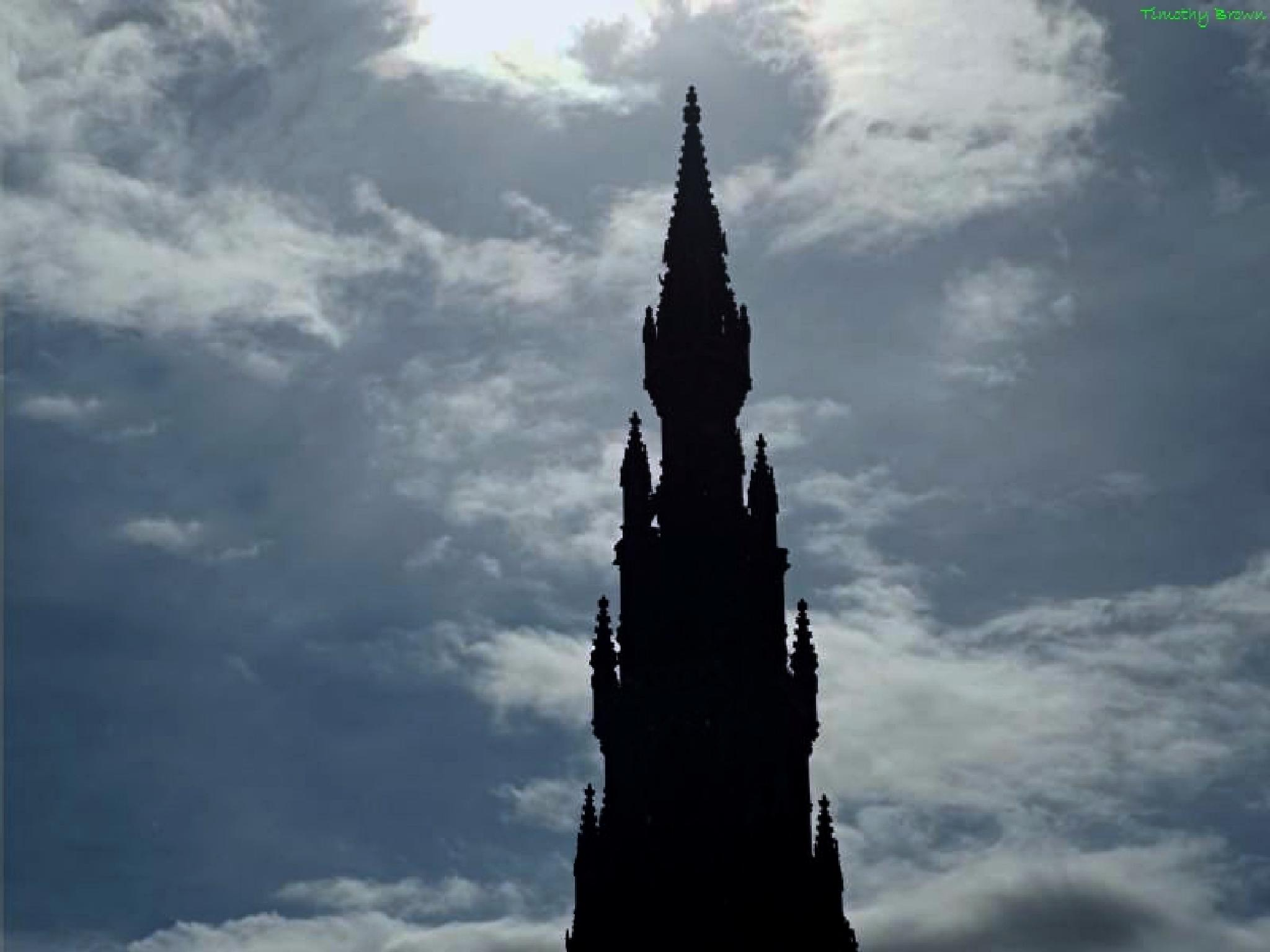 Scott Monument by Timothy Brown