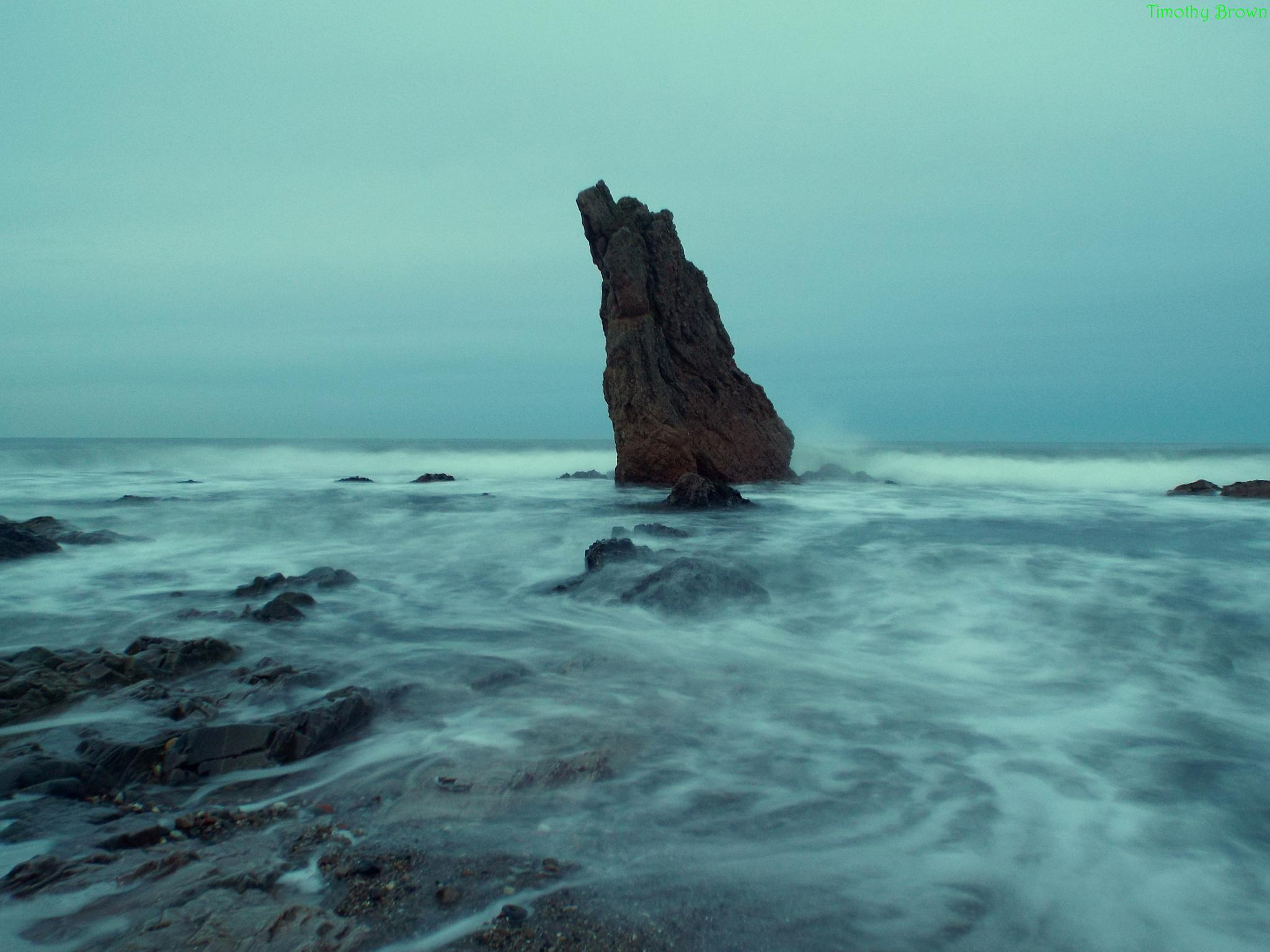 Stormy Waters by Timothy Brown