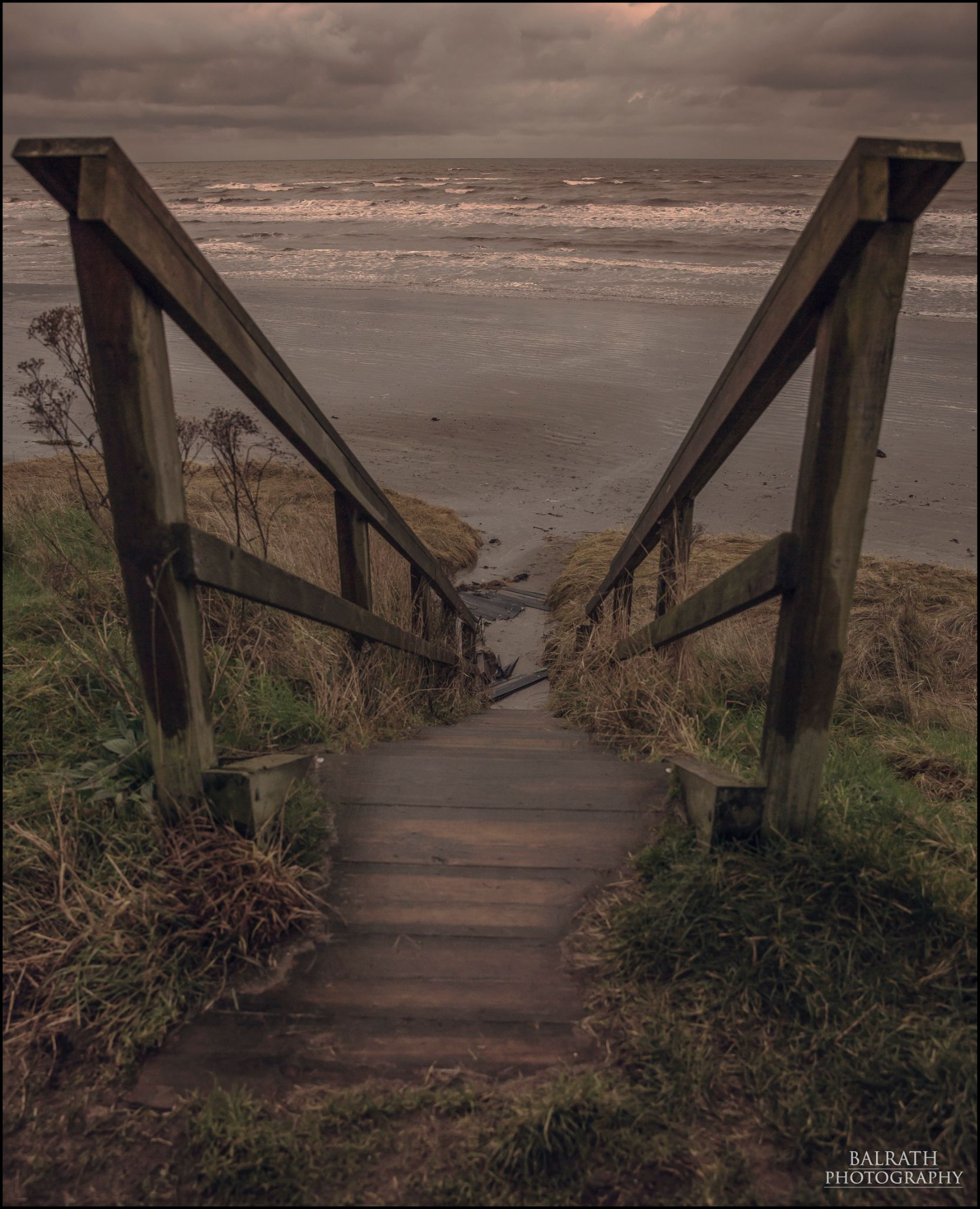 Steps to the Beach by BALRATH PHOTOGRAPHY