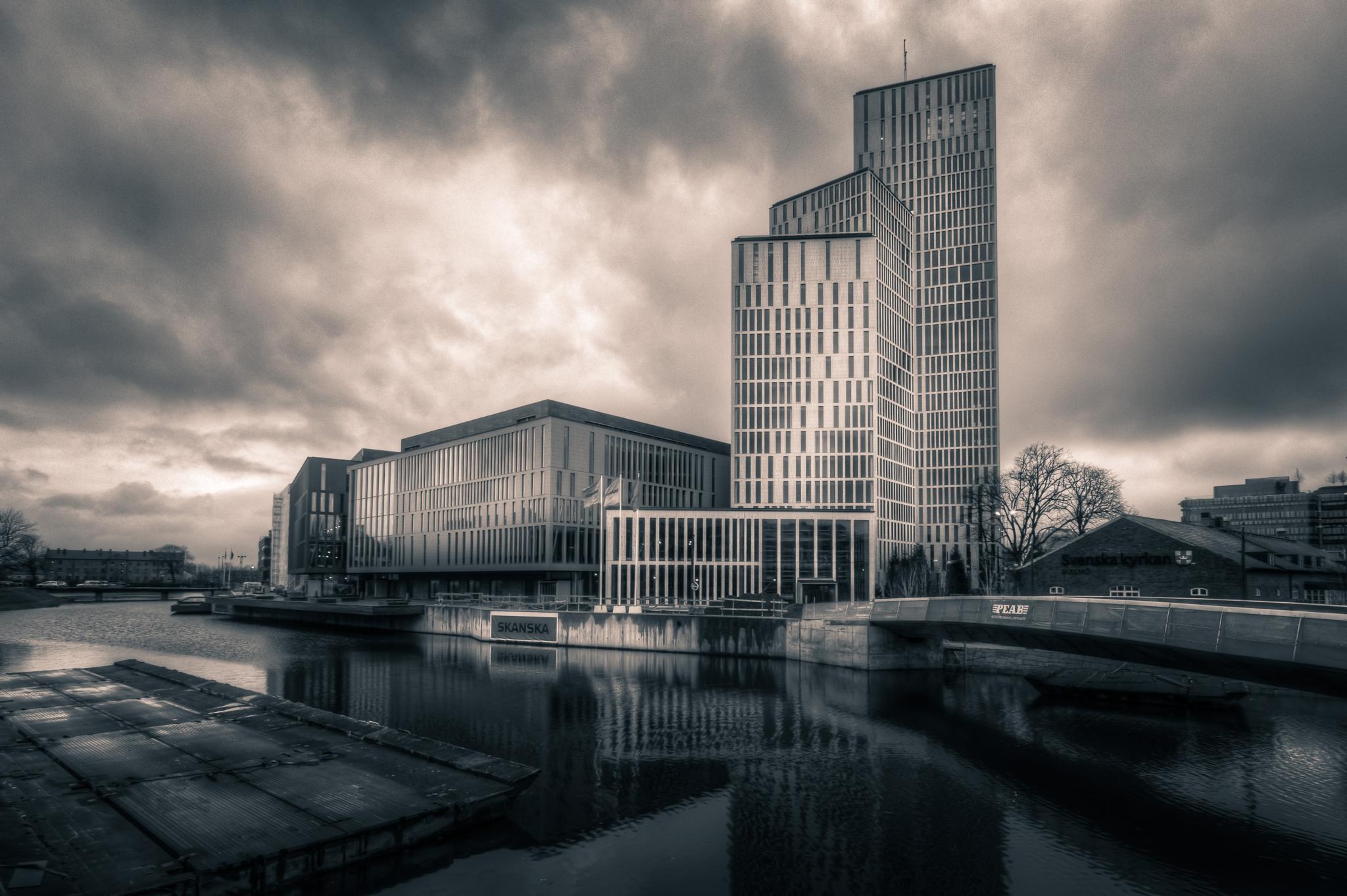 The three Towers by Mirza Buljusmic