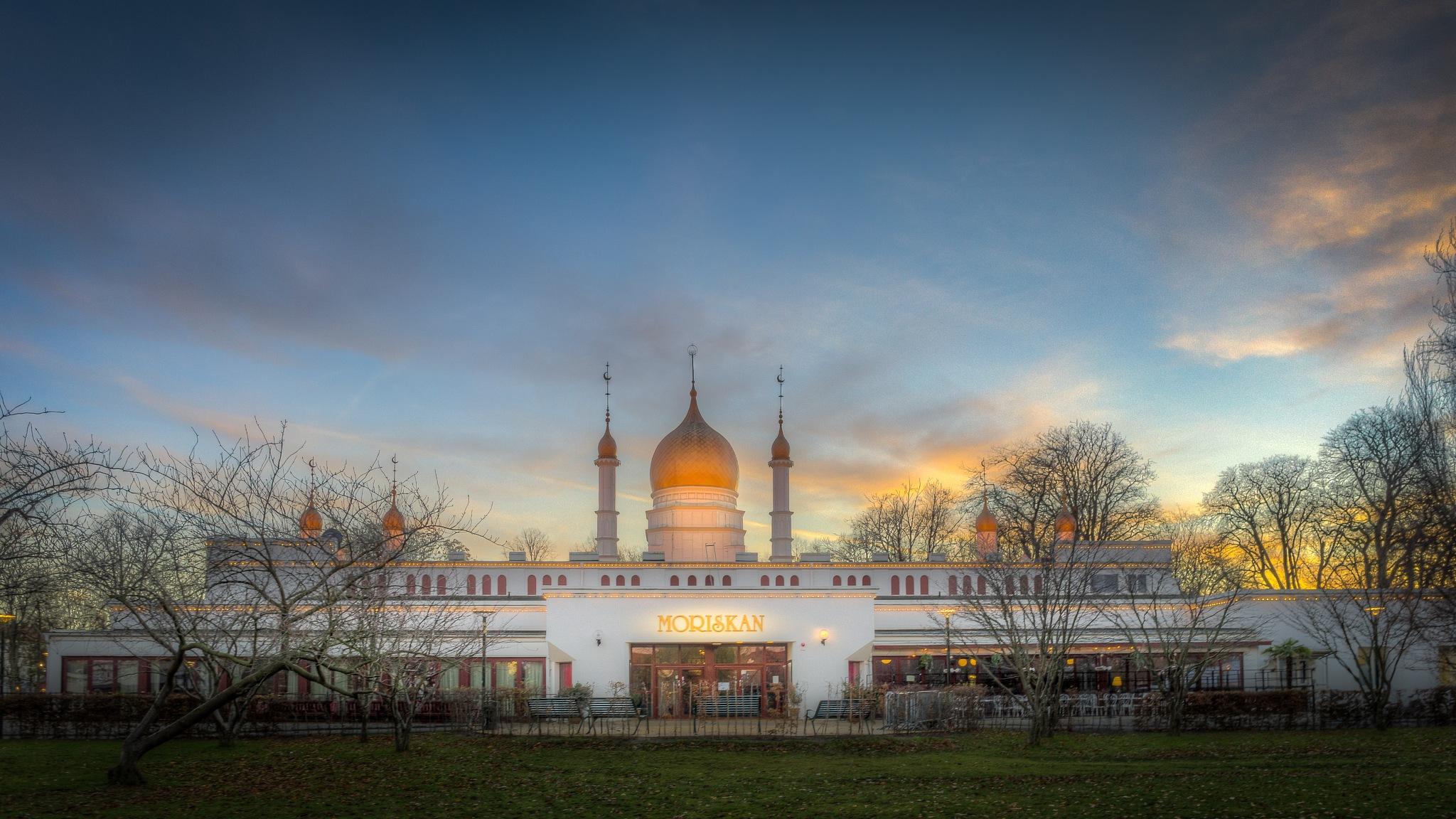 The Moorish pavillion by Mirza Buljusmic
