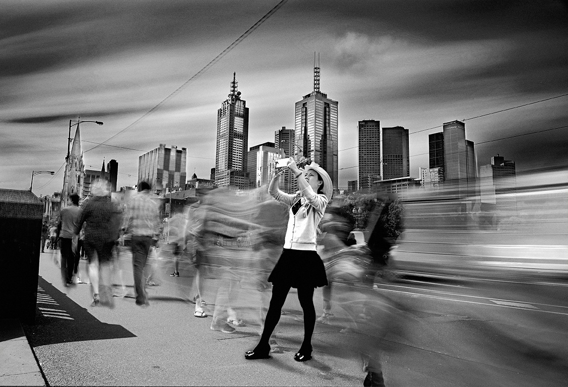 the Blur that surrounds us by Chris Bekos