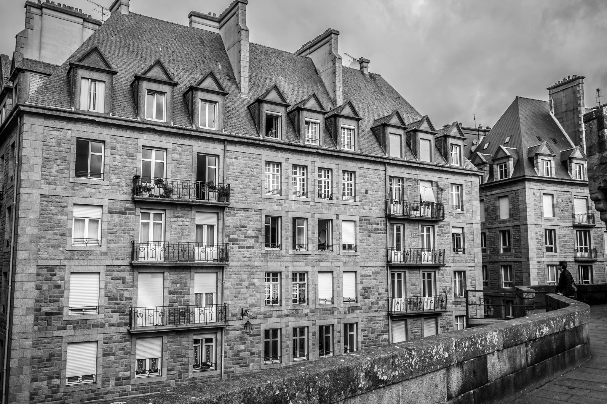 Saint Malo, ville corsaire by Laurent Adien
