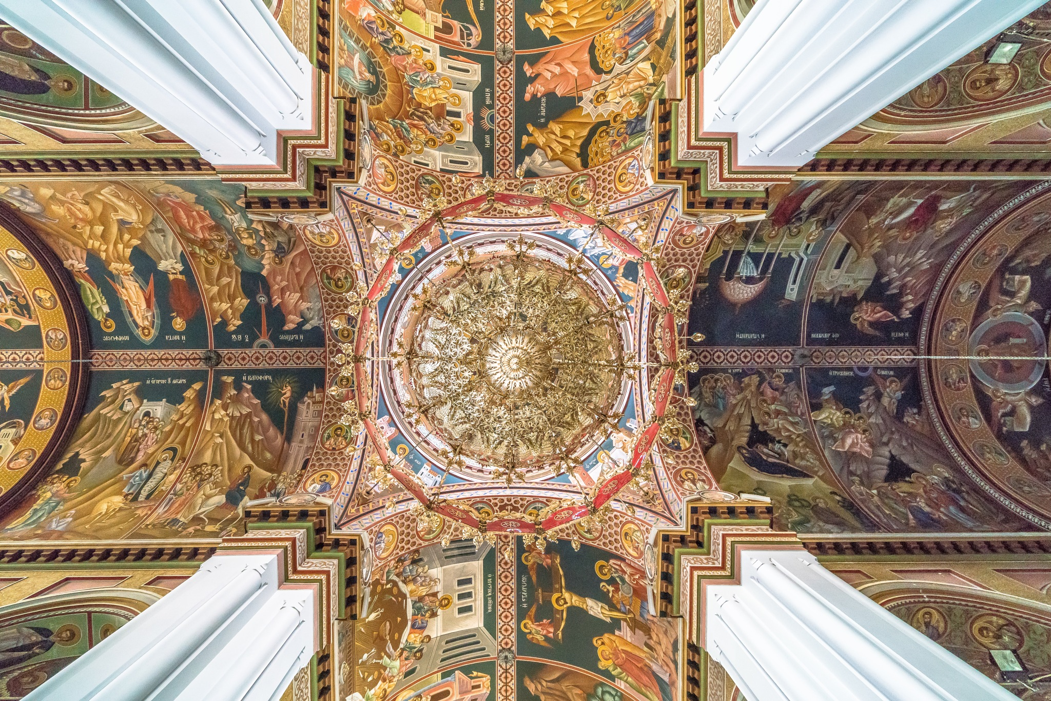 Ceiling by BernArt Photography