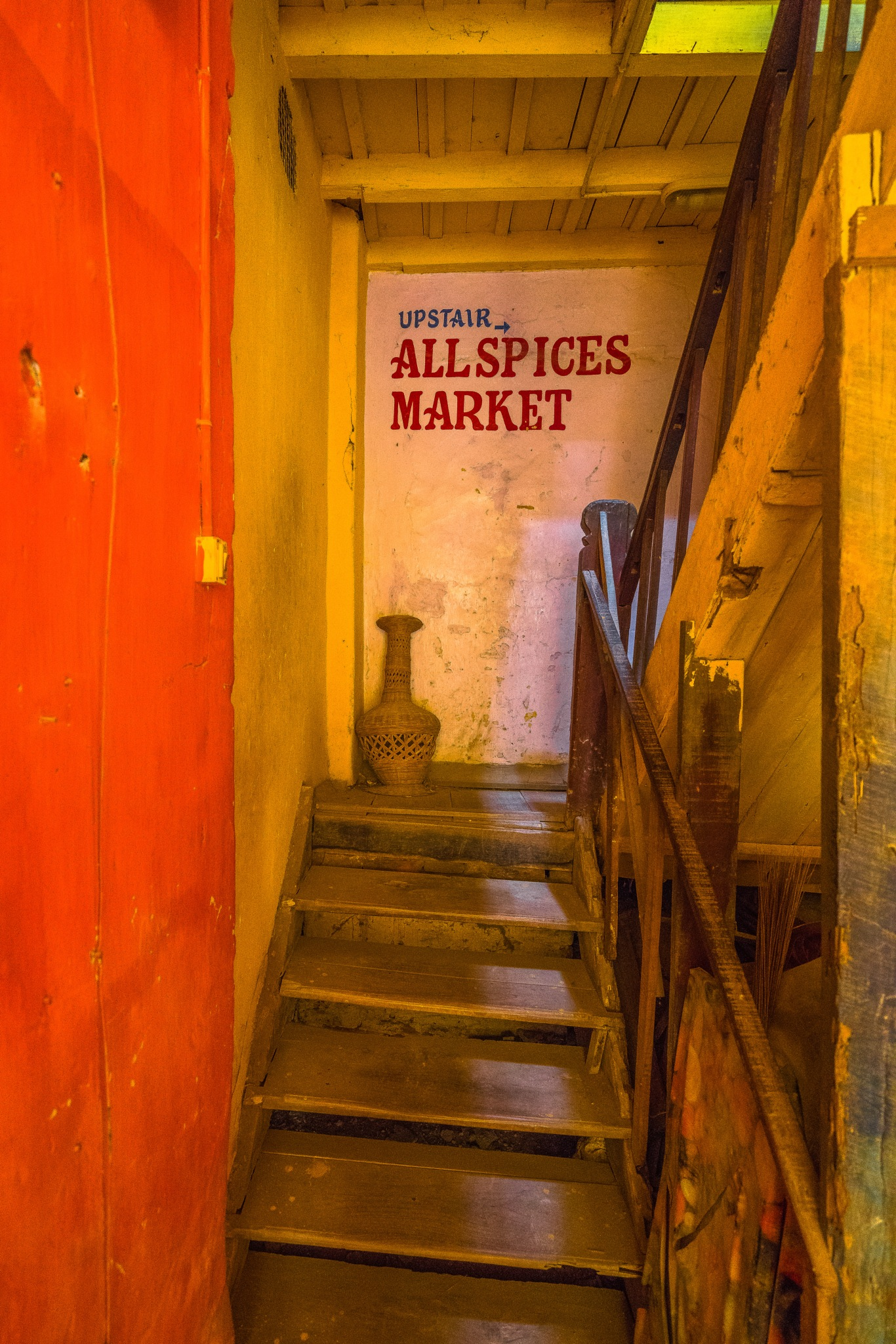 The spice market is upstairs by BernArt Photography