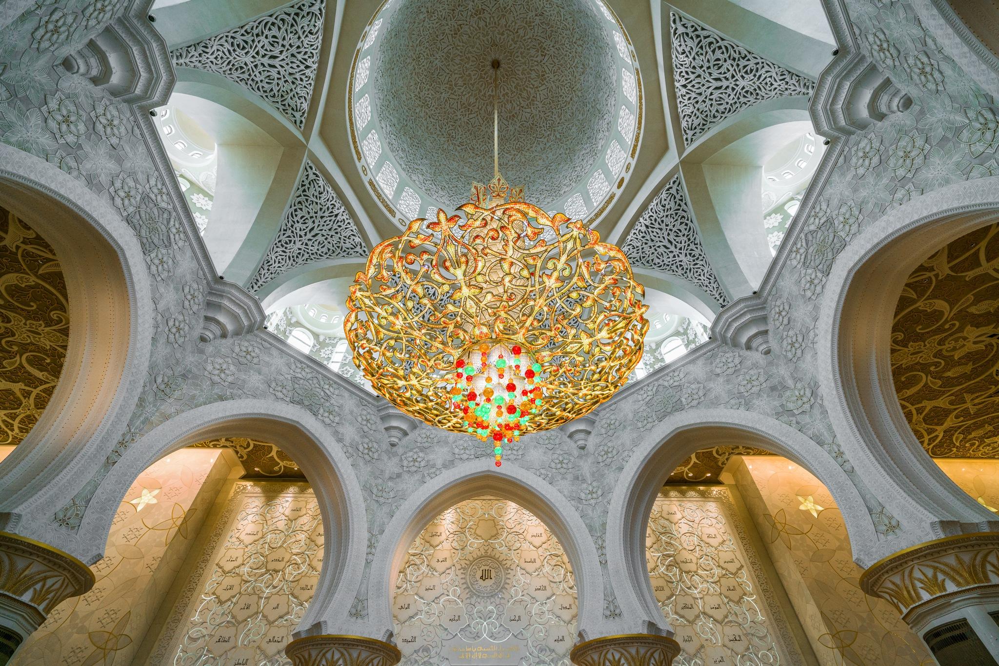 Sheikh Zayed Grand Mosque 6 by BernArt Photography