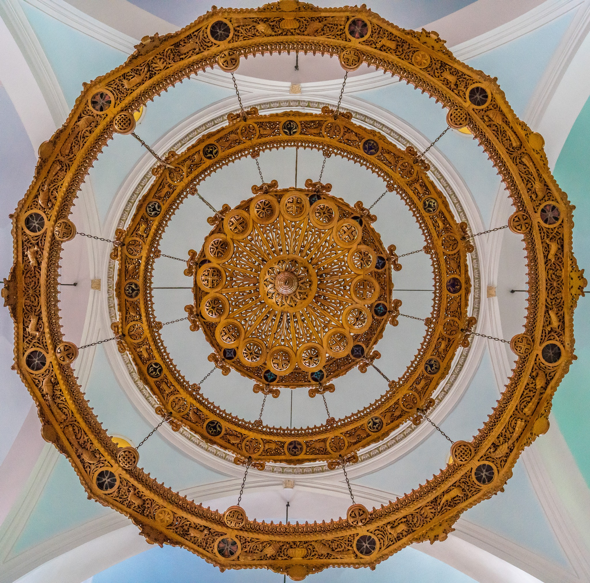 Ceiling lamp by BernArt Photography