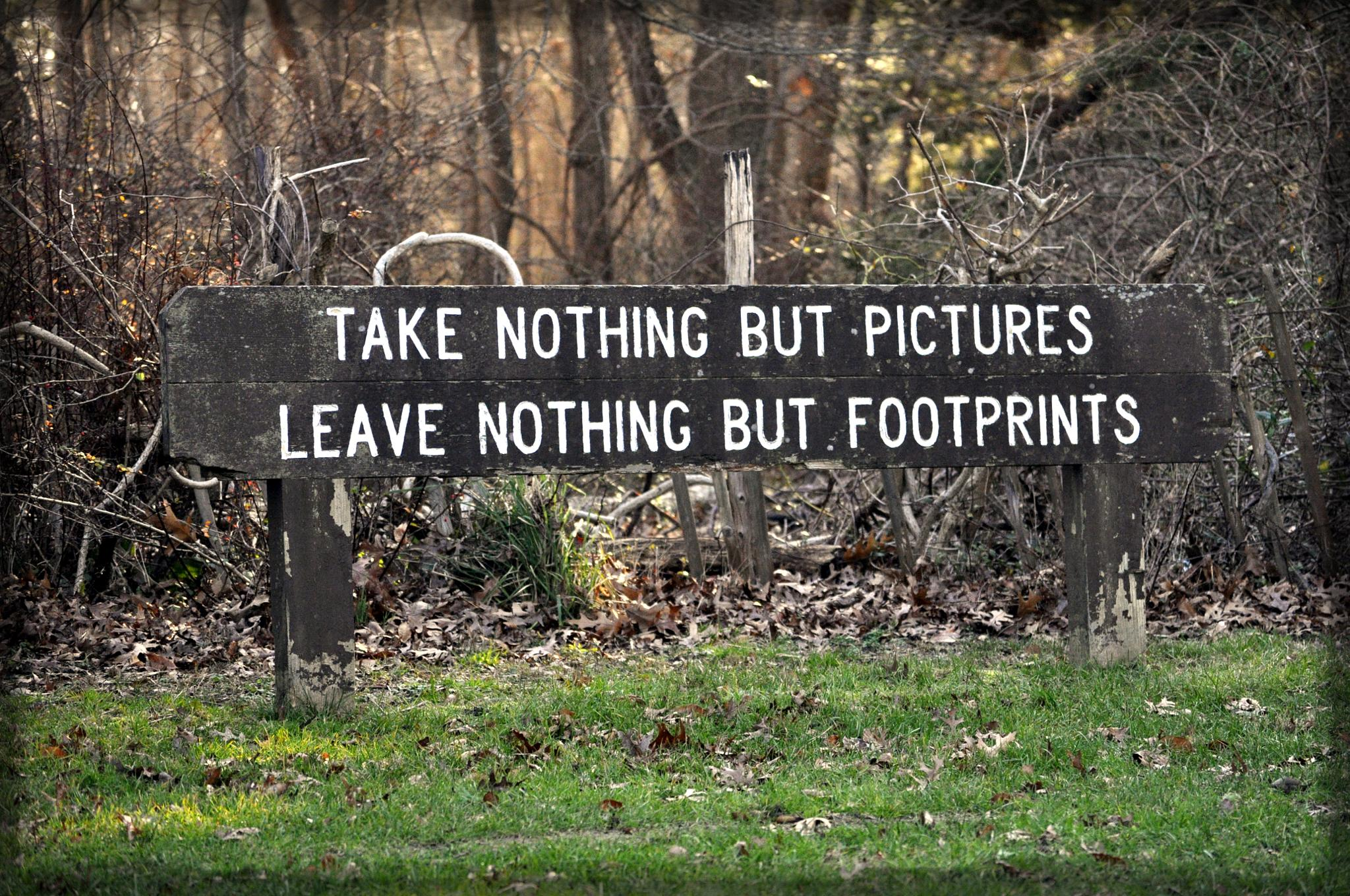 A Photographers Motto by Joan