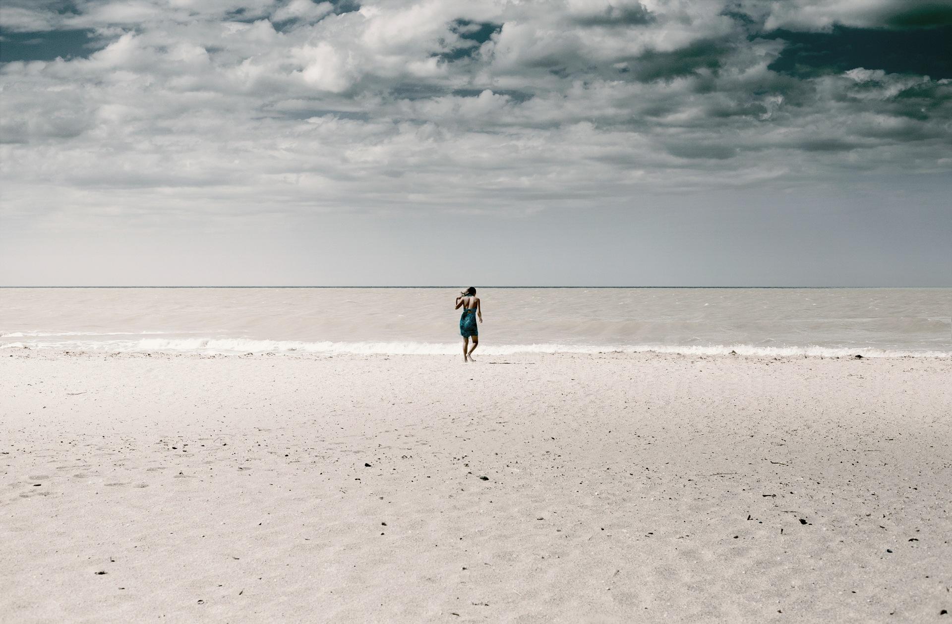 ALONE BEACH by A  N  D  R  E  S  -  R  O  A