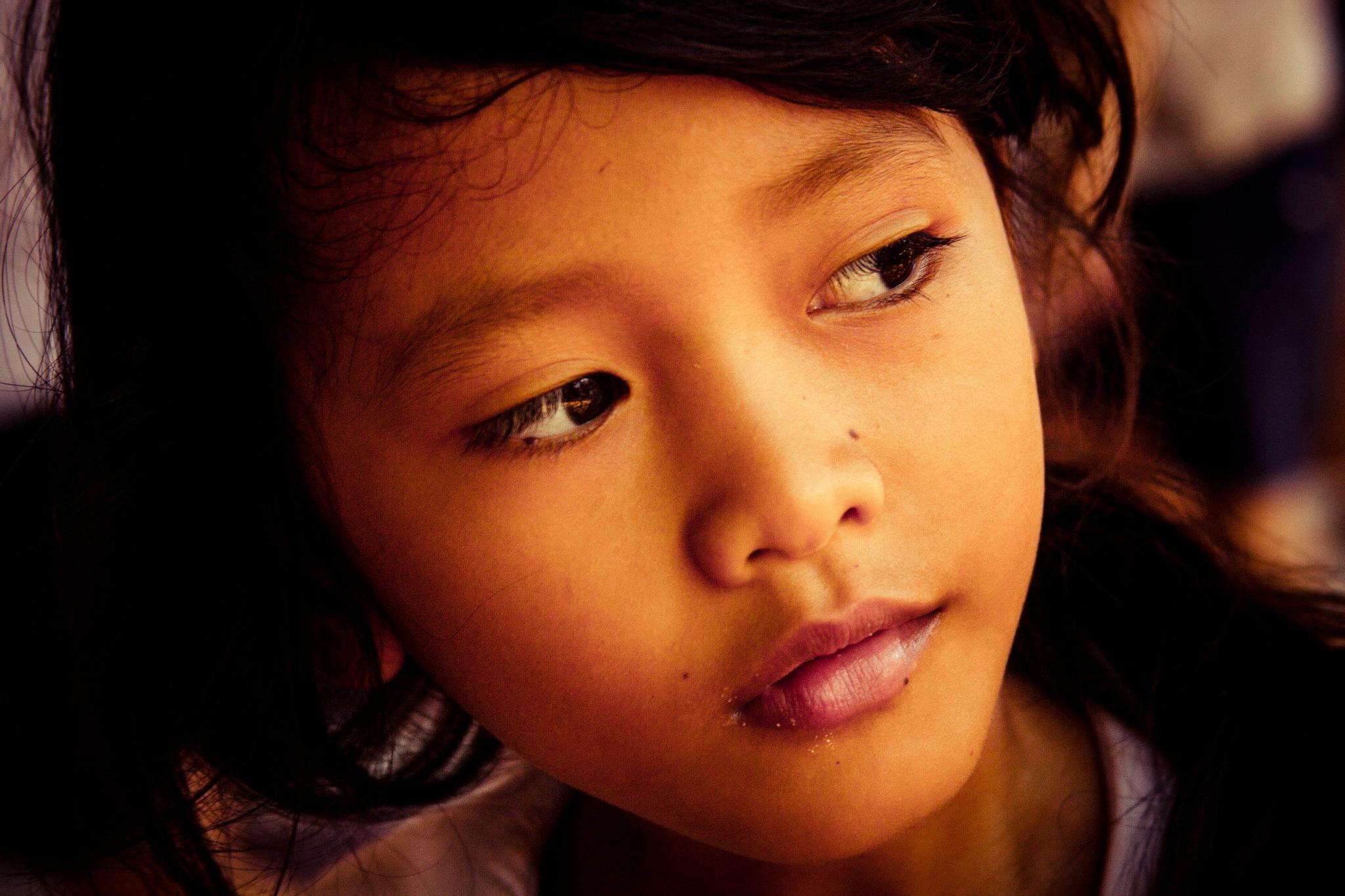 カンボジアの肖像3B by wwfax photography