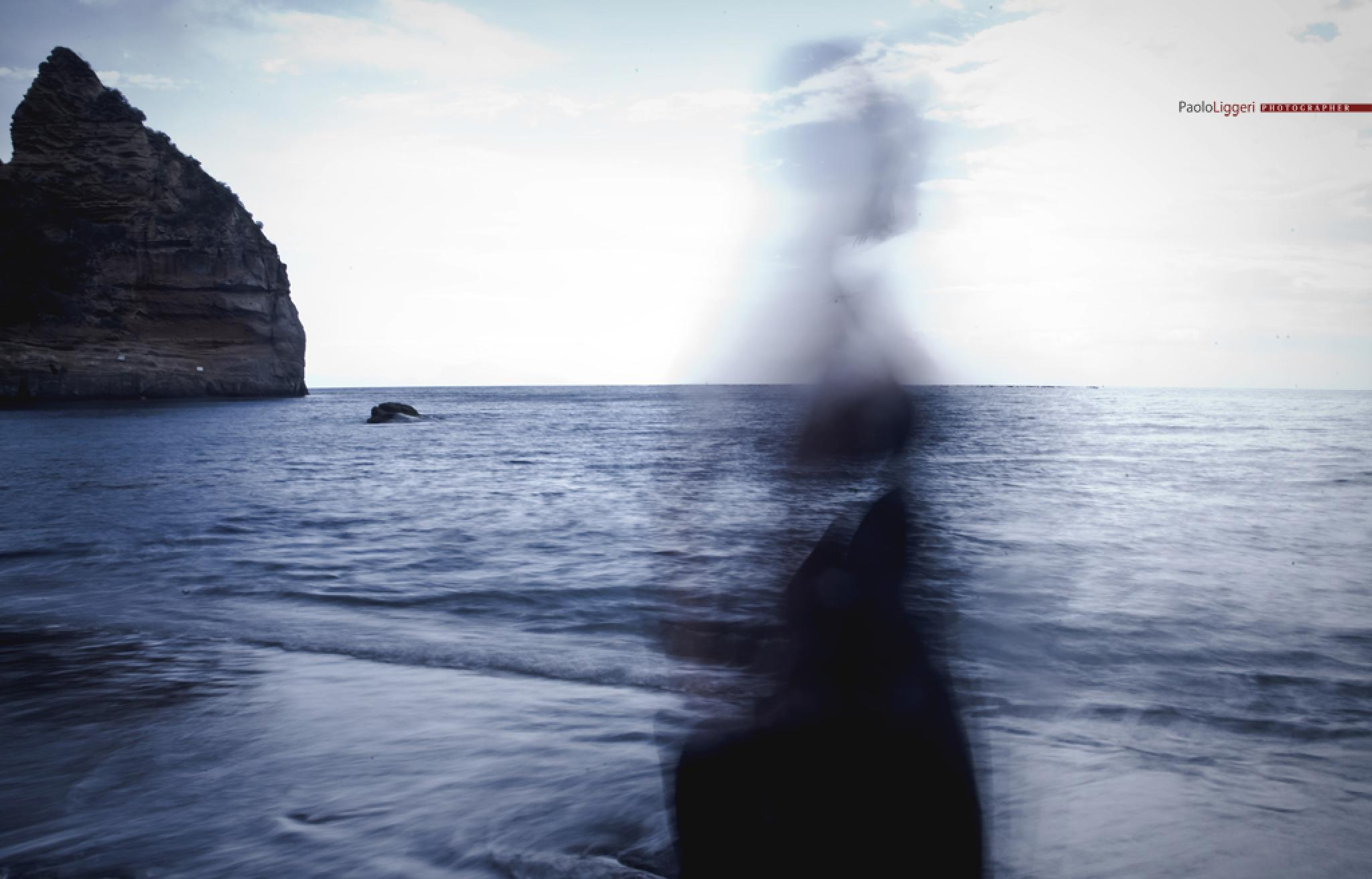 Photo in Fine Art #ghost #federica #sea #naples #fine art #paolo liggeri