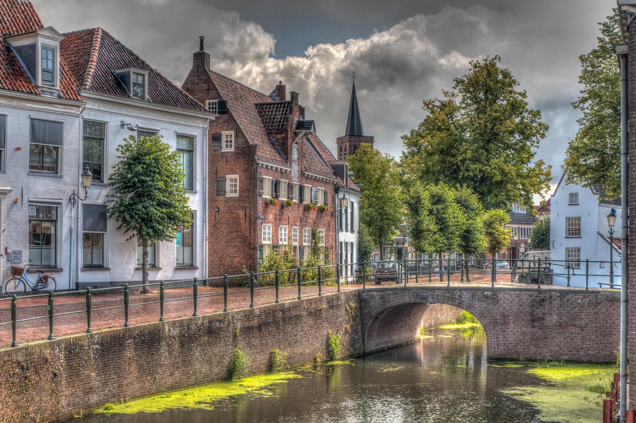 Old Centre of Amersfoort by Herman de Raaf