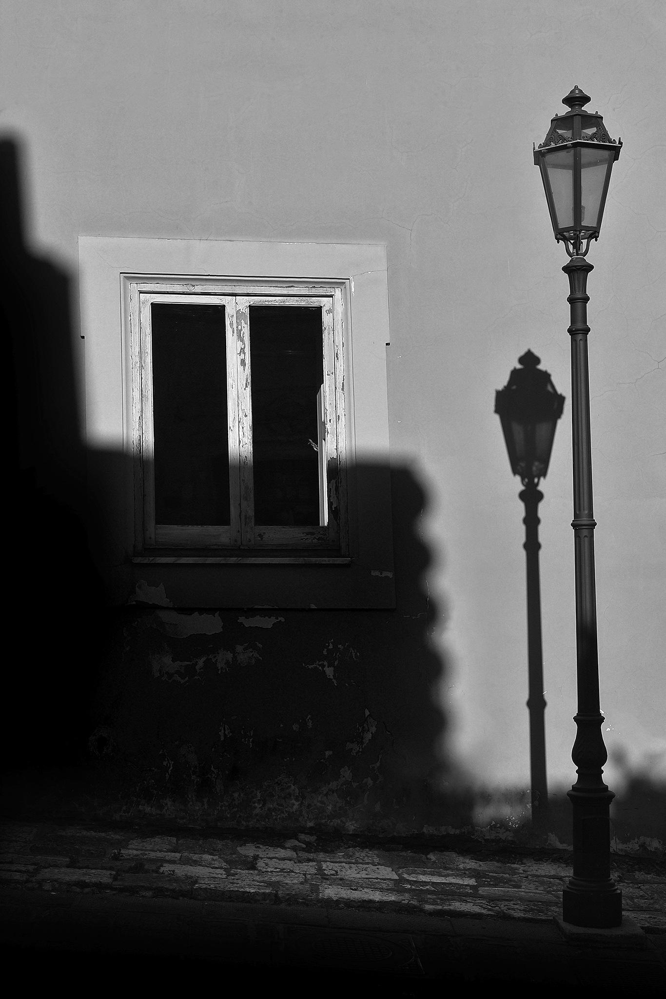 Il lampione by Ascione Rosario