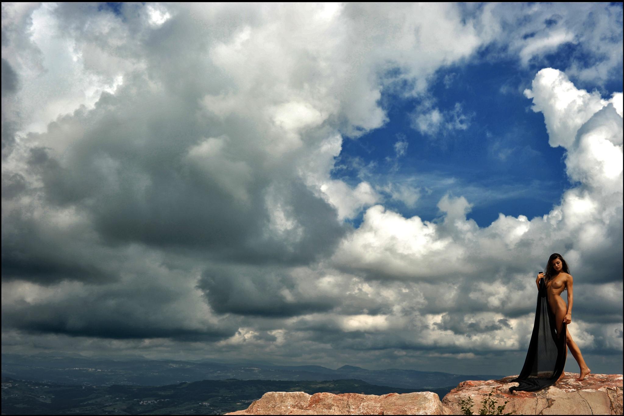 ...le nuvole by Ascione Rosario