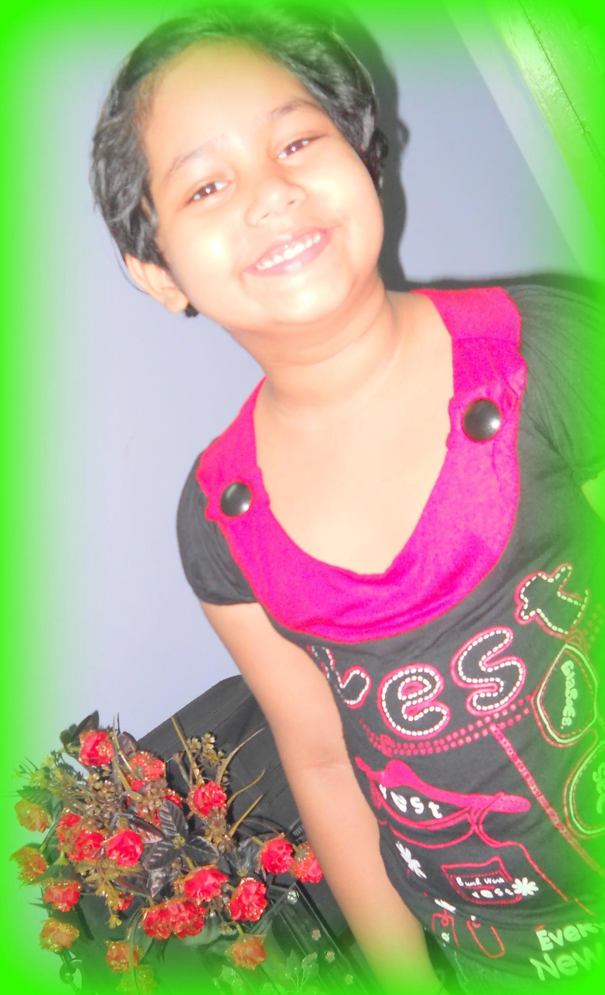 sweety##child##colourful## by swapan kumar saha