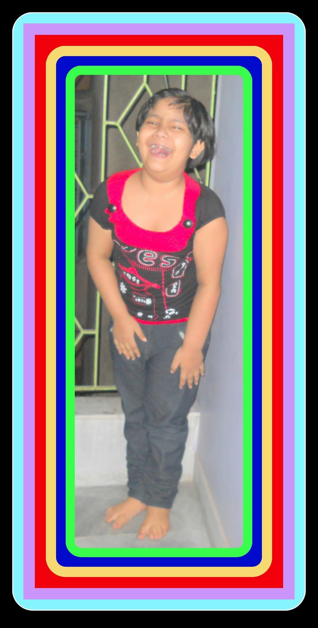 Colourful child by swapan kumar saha