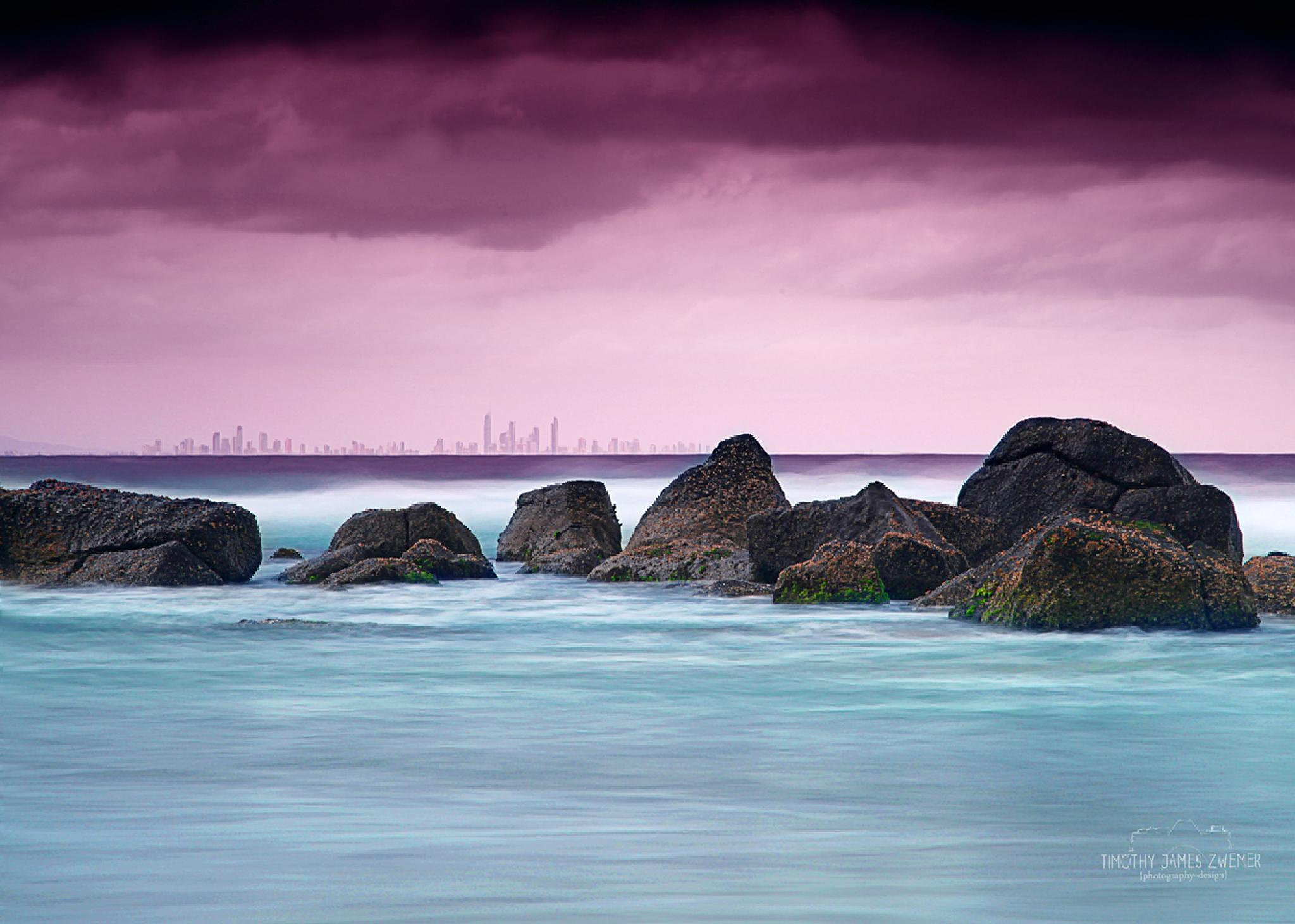 Surfers Paradise by Timothy James Zwemer