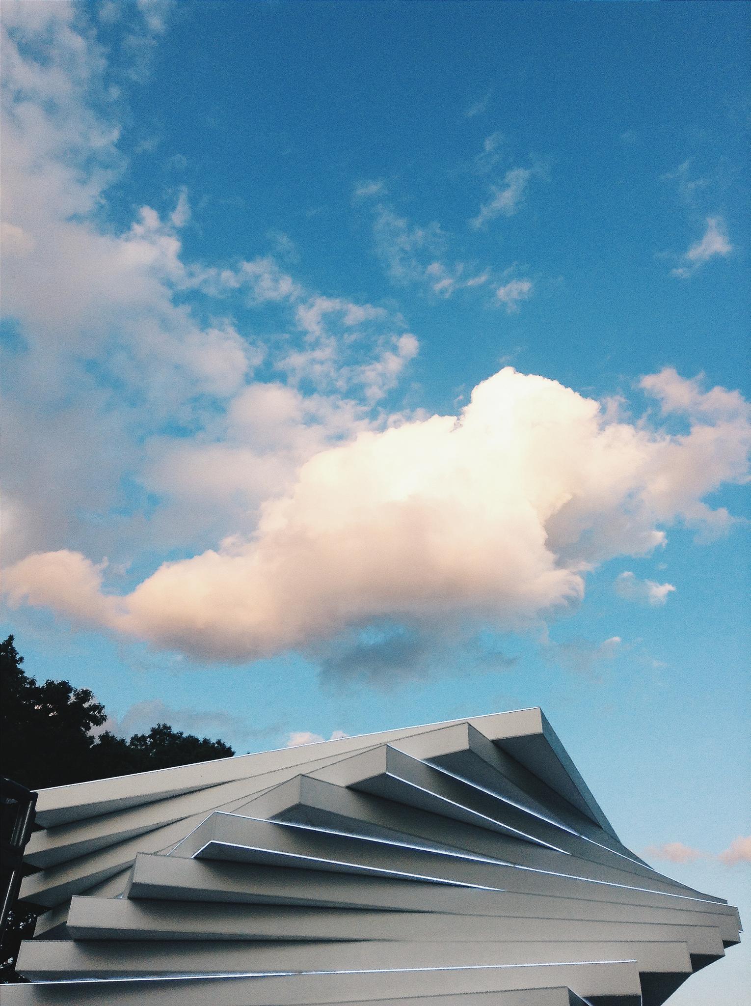Photo in Architecture #future sensations #architecture #clouds #sky #art