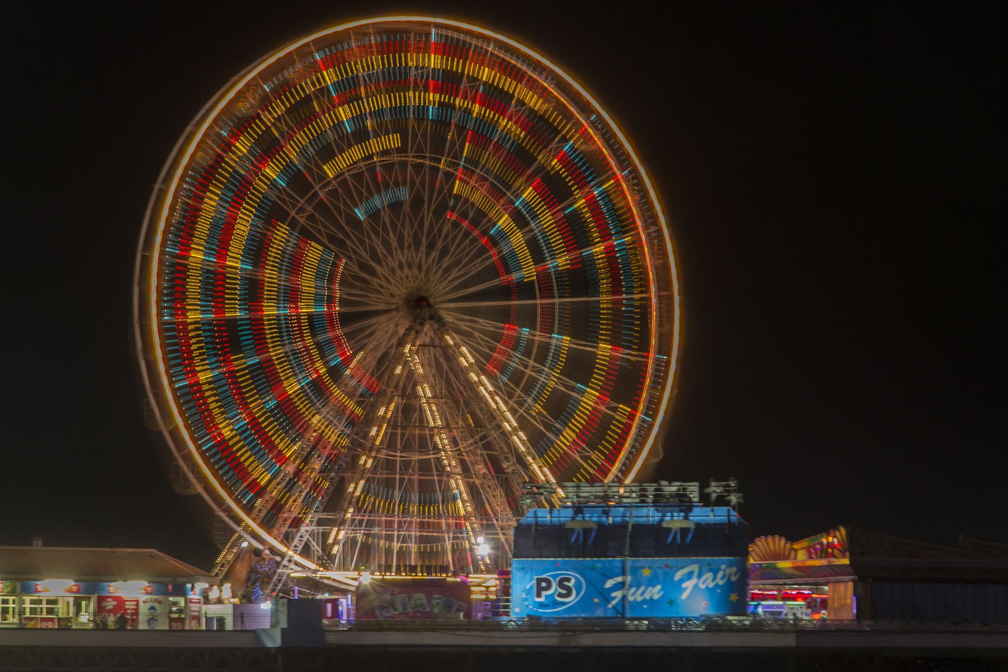 Big Wheel by Paul Ruddock