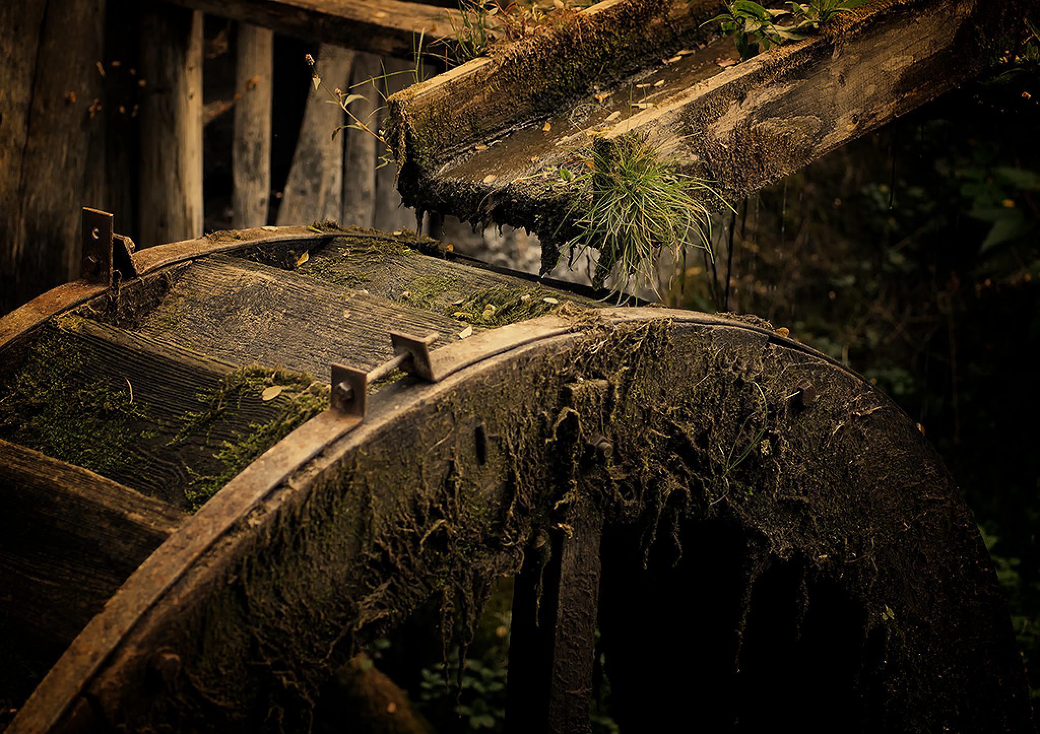 Water mill by erdoslaci