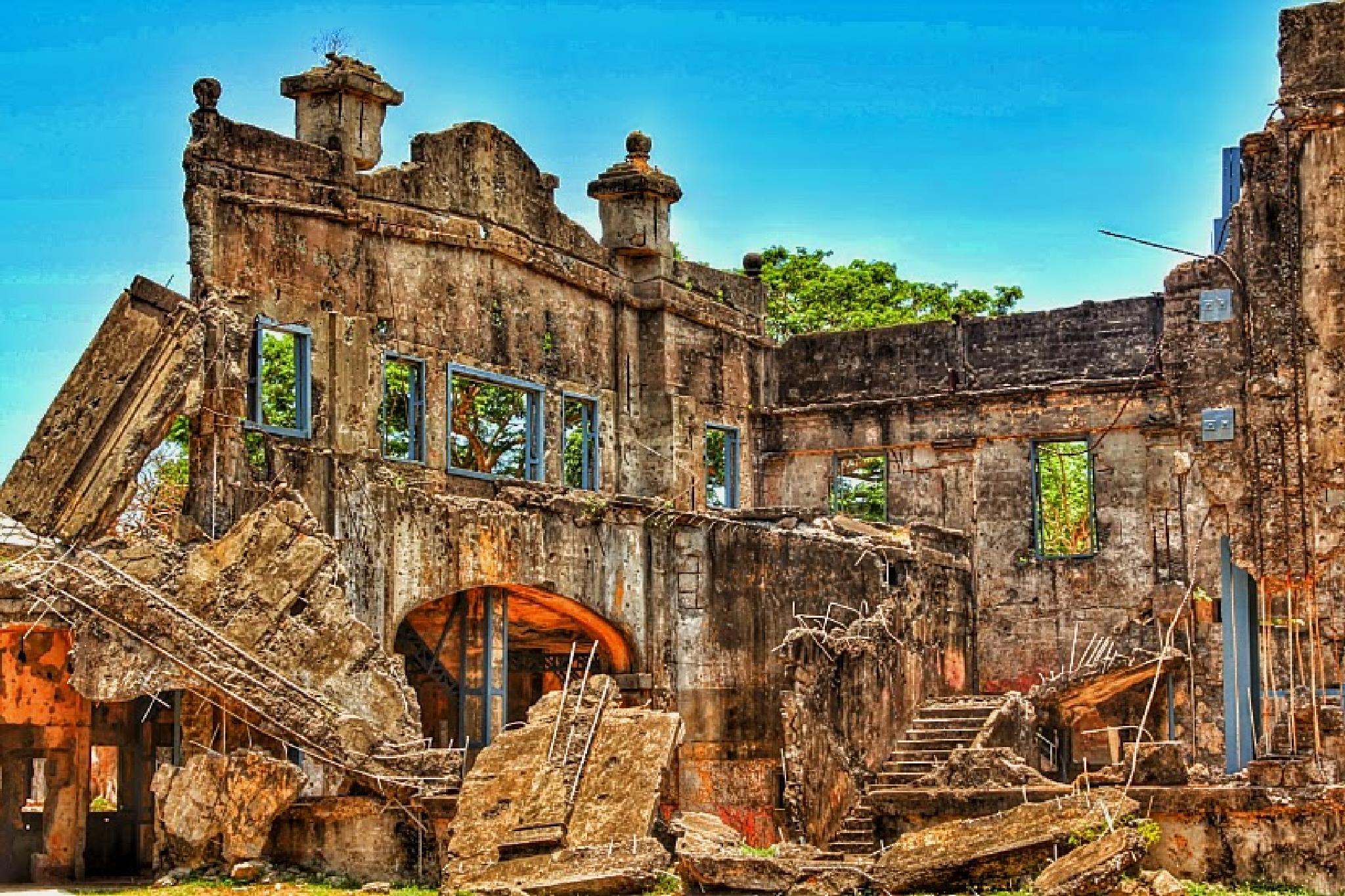 Ruins of Corregidor Island by norman amora