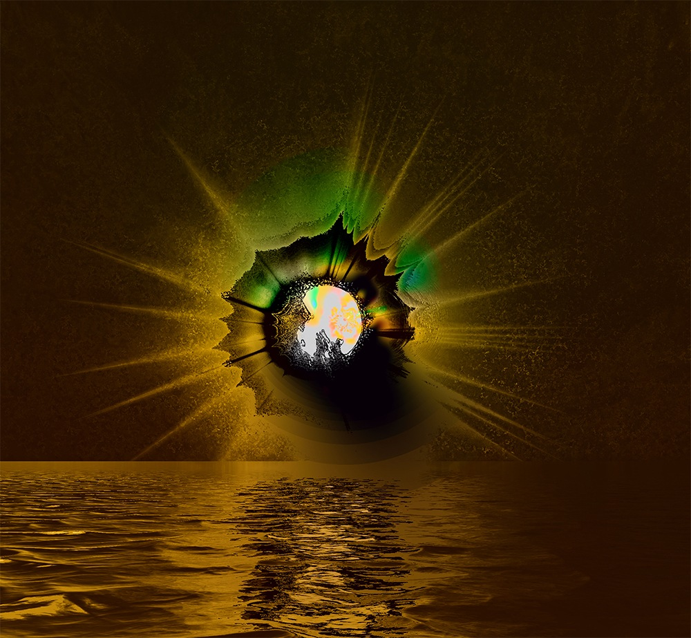 Moon Explosion by elaine