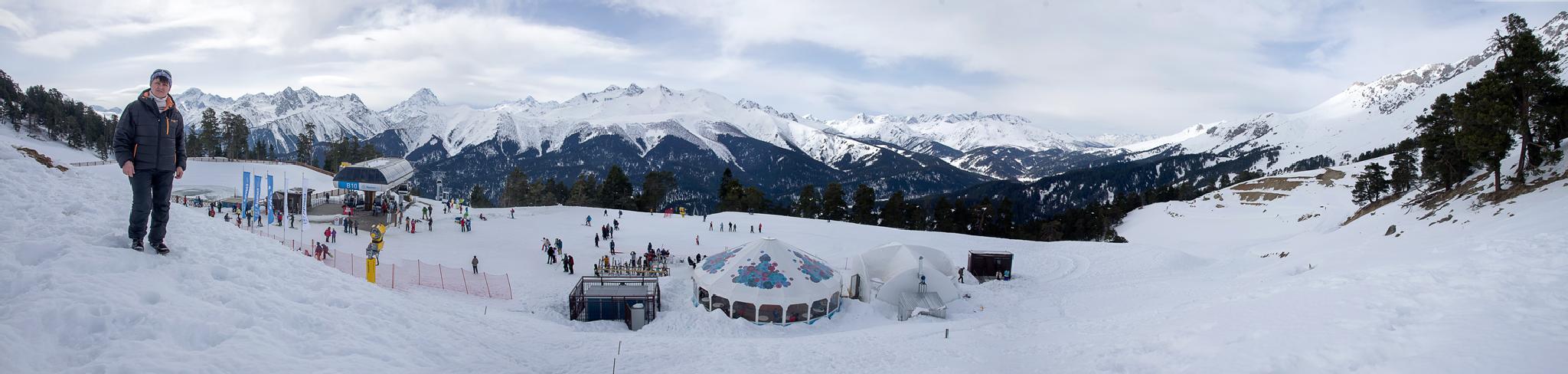 Ski resort Arkhyz by Roman Prikhodko