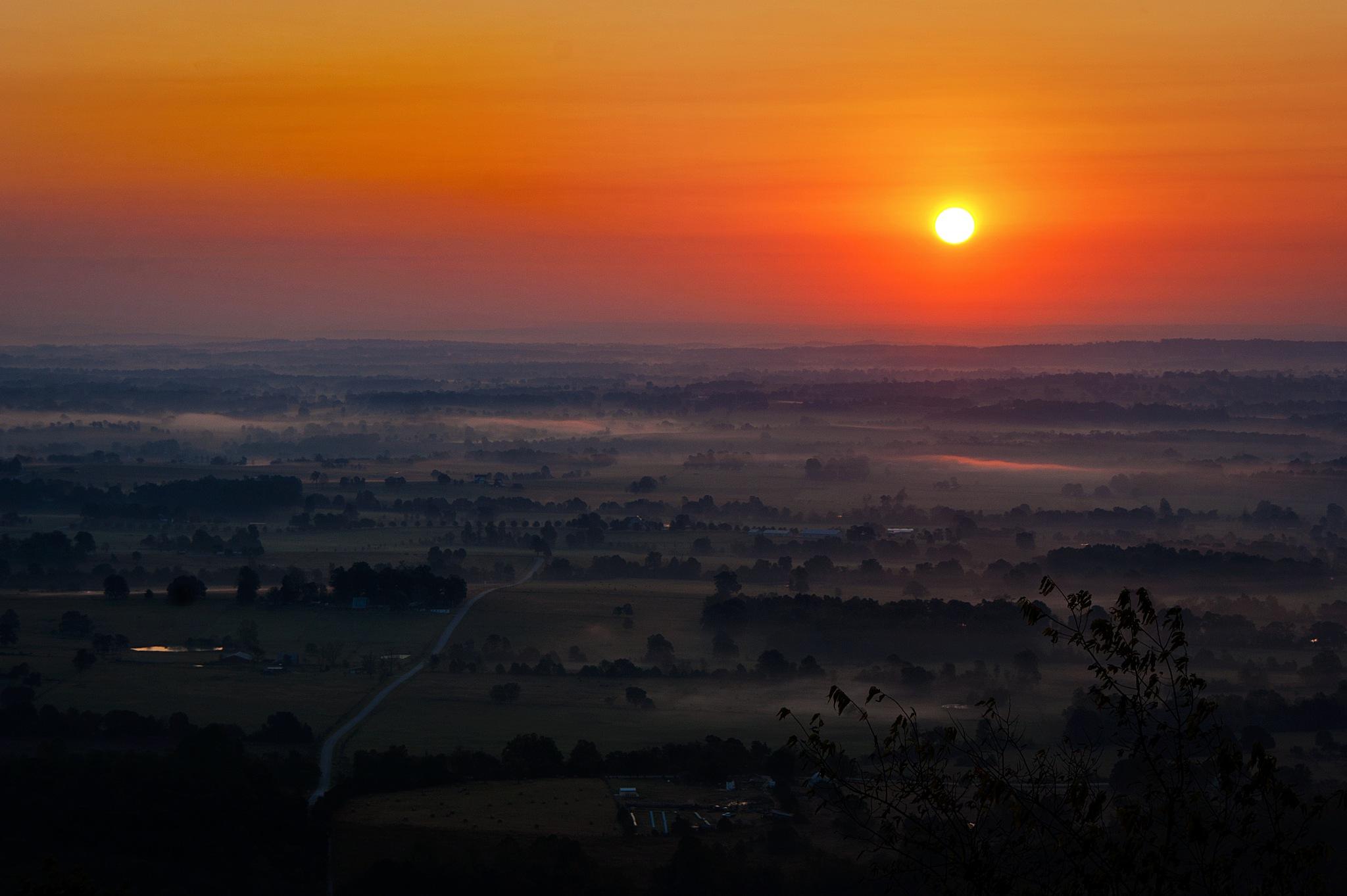 Mountain Sunrise by Austin Devine