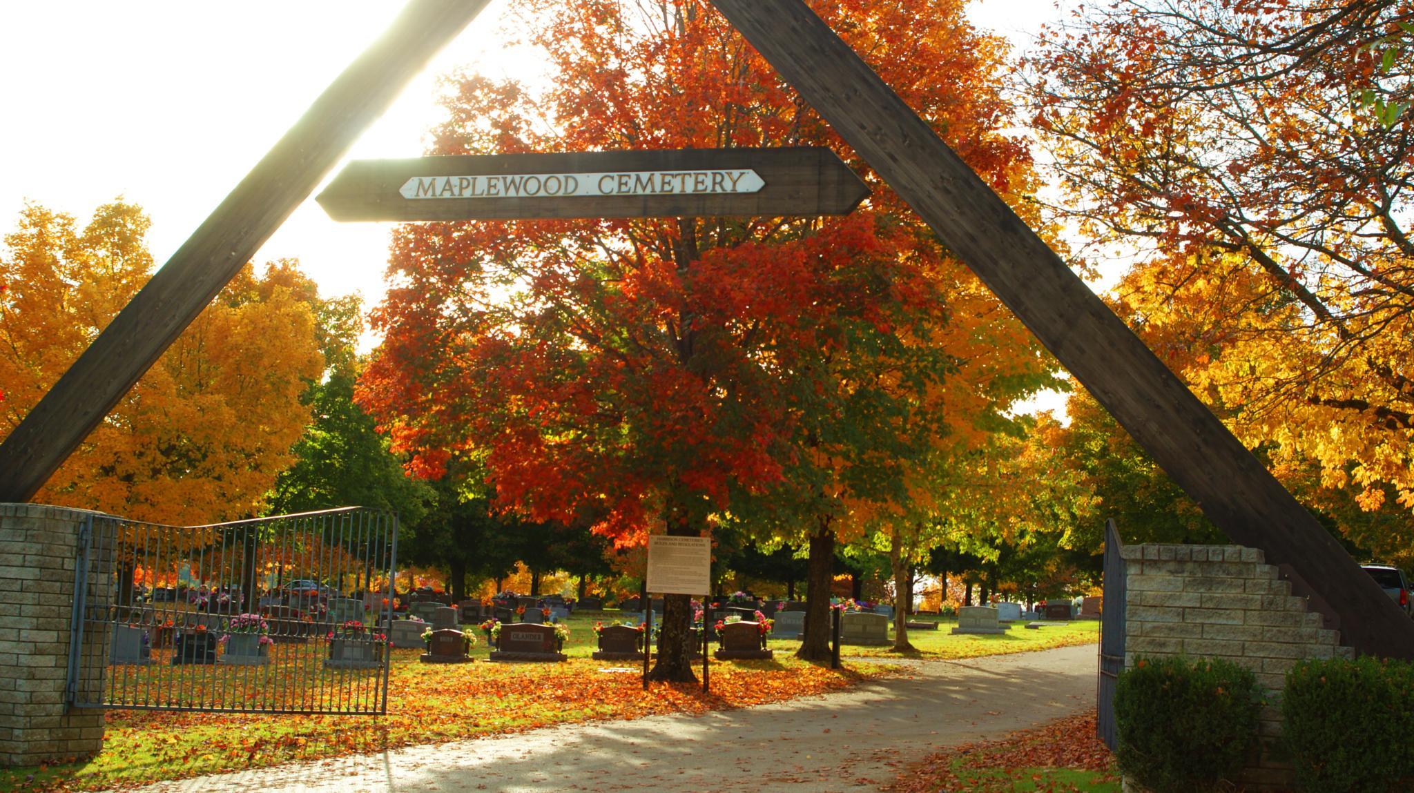Maplewood Cemetery by Austin Devine