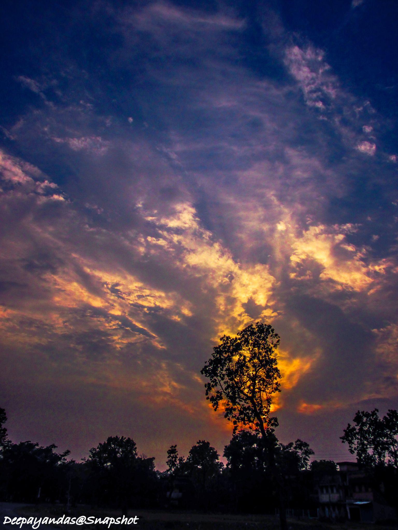 Silhouette Evening... by Deepayan Das