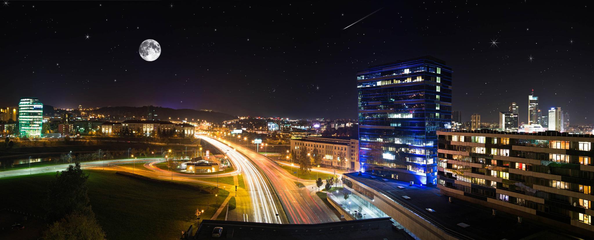 Vilnius panorama by aurisfoto.lt