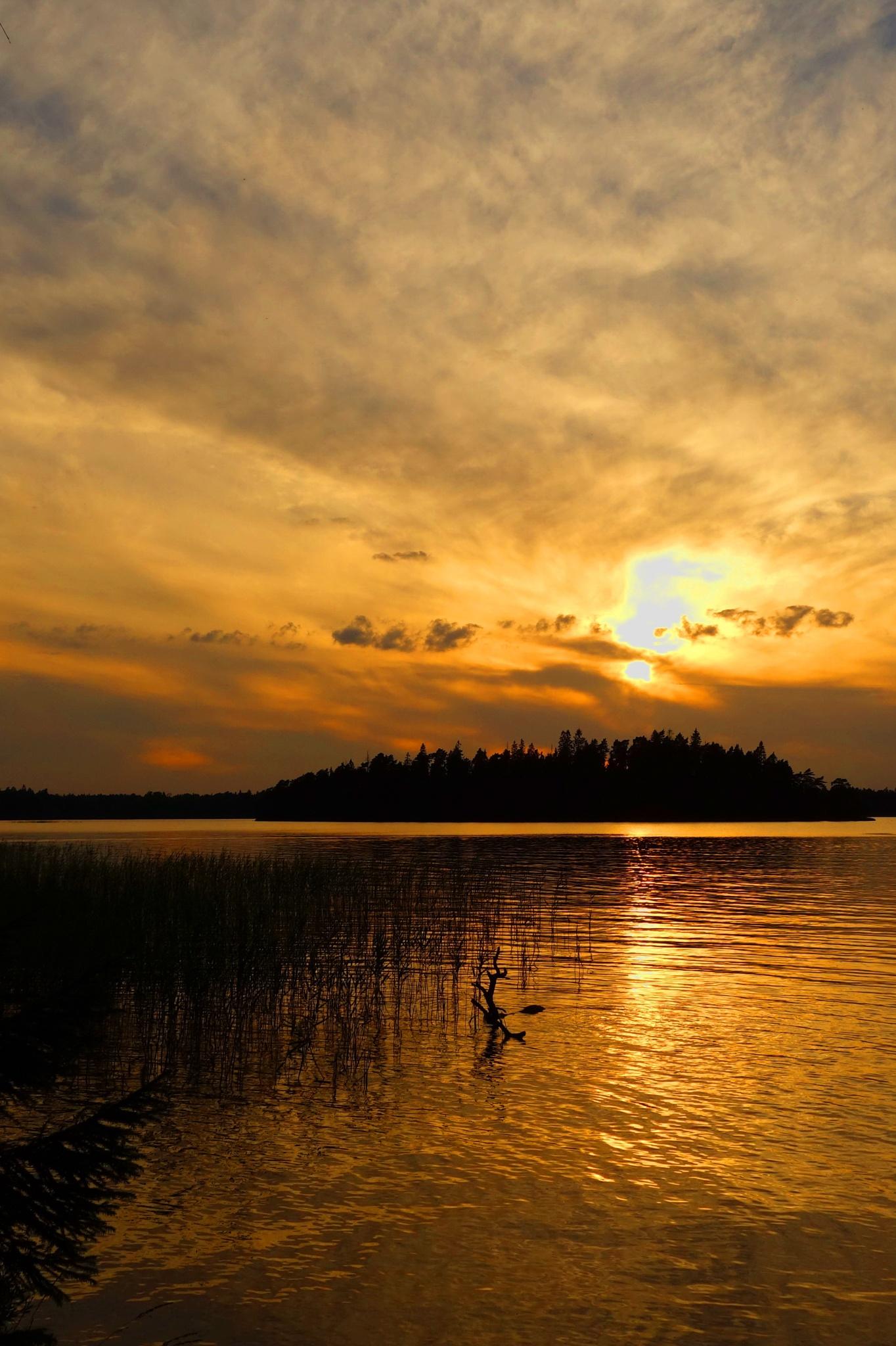Sunset by Ad Spruijt
