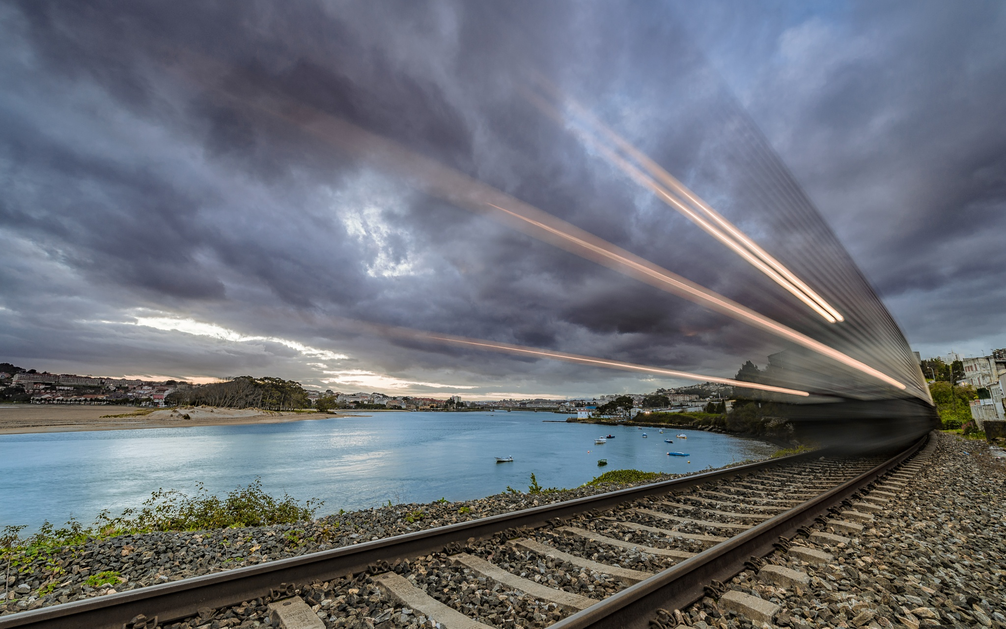 Ride the Train by Eduardo Regueiro