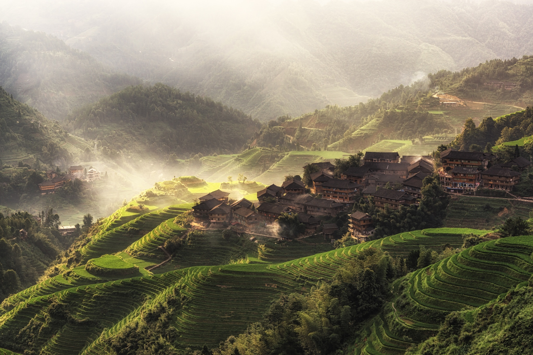 The morning light by Aaron Choi
