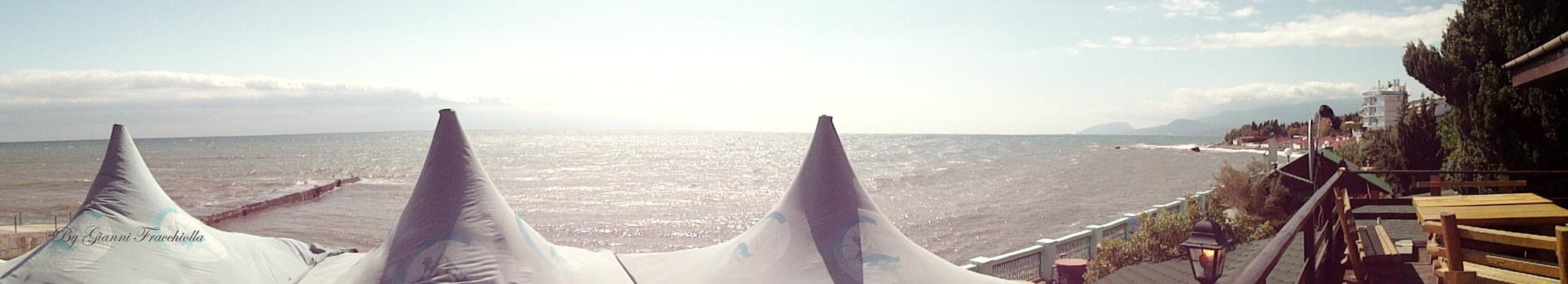 Panoramica sul Mar Nero. by jonny