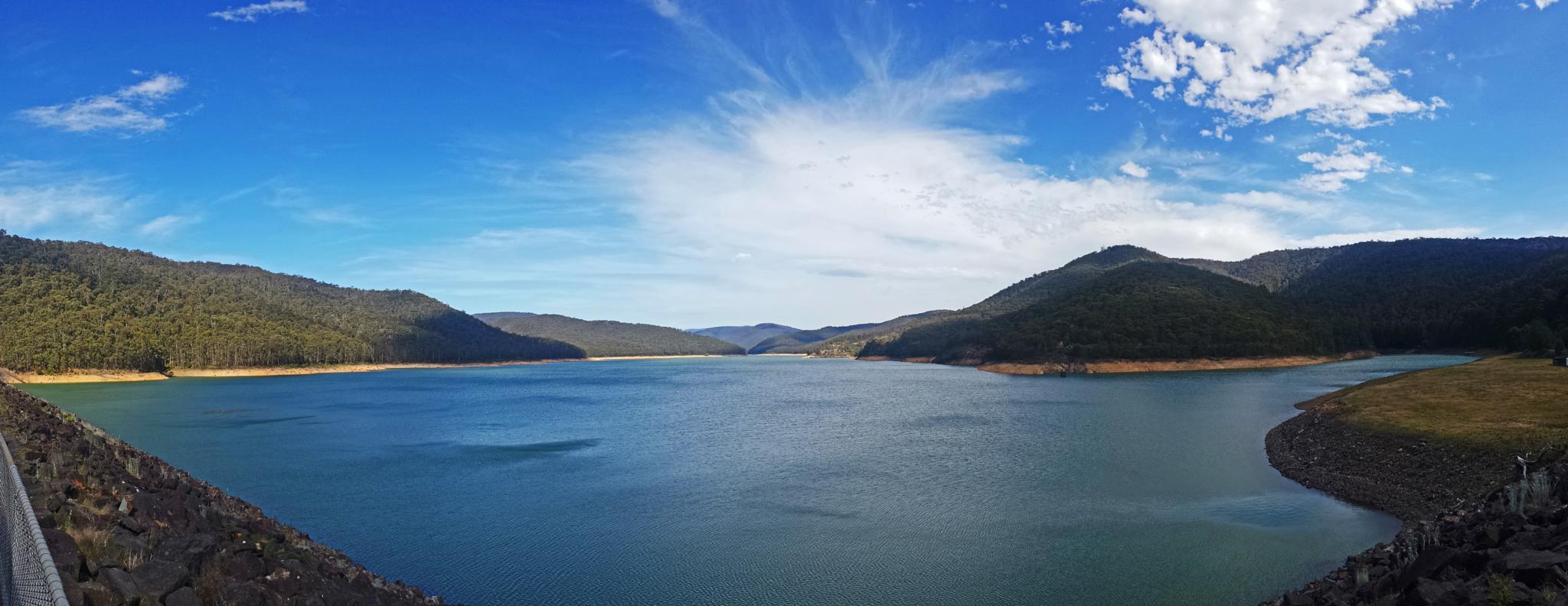 Upper Yarra Reservoir by Mark Vivian