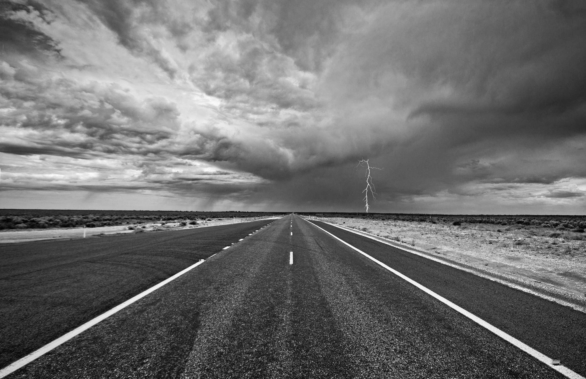Silver City Highway by Mark Vivian