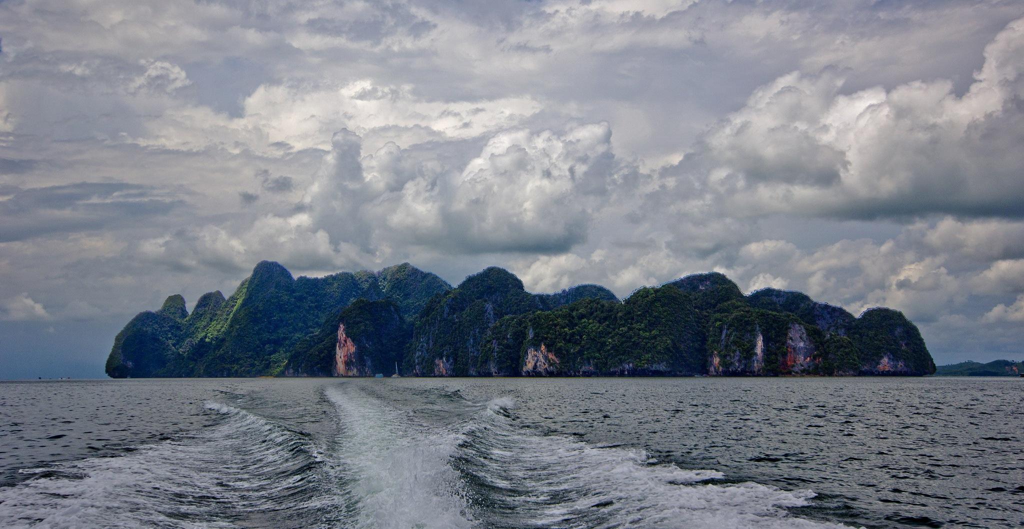 Phang Nga Bay by Mark Vivian