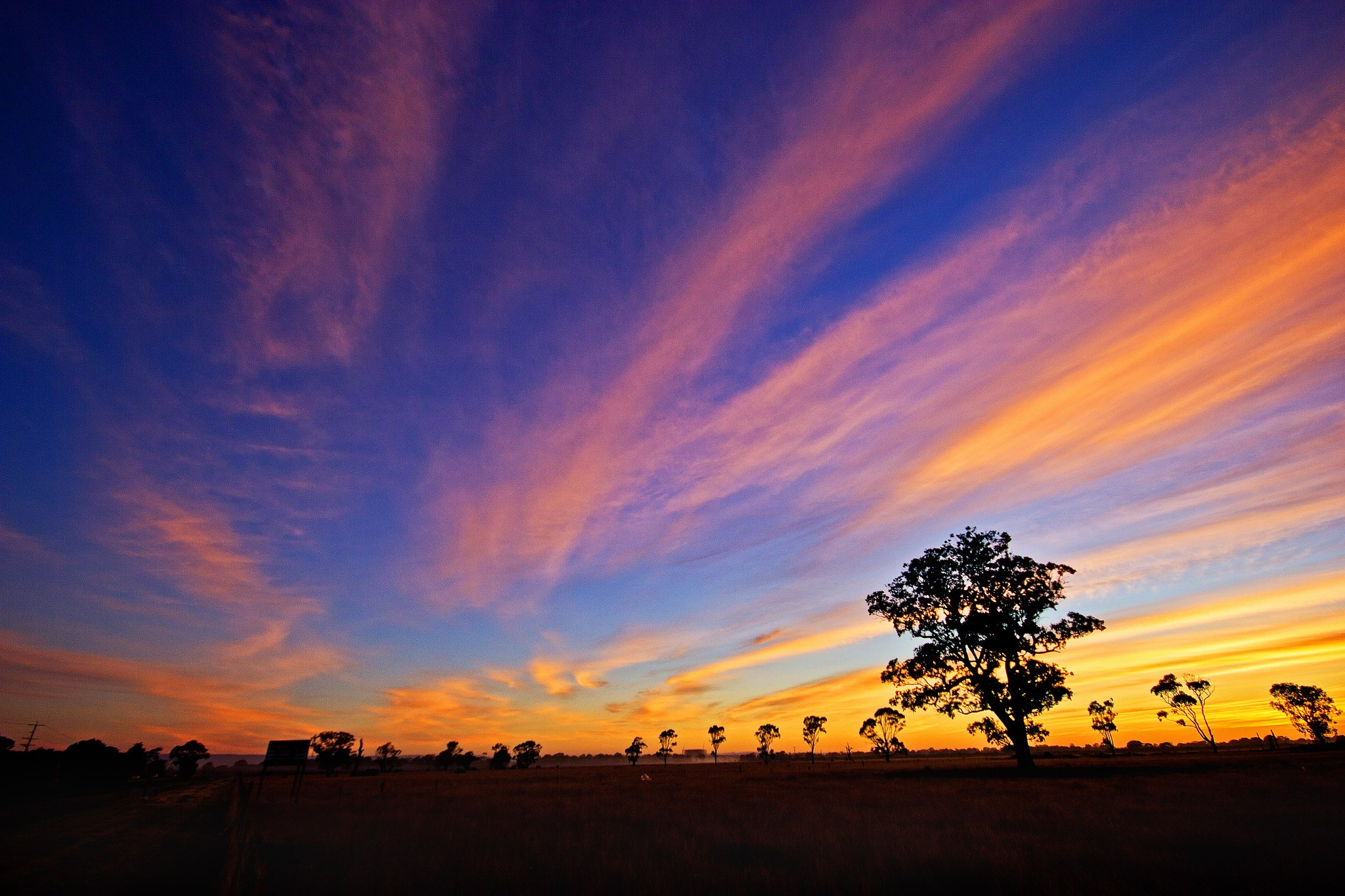 Sunrise Australia by Mark Vivian