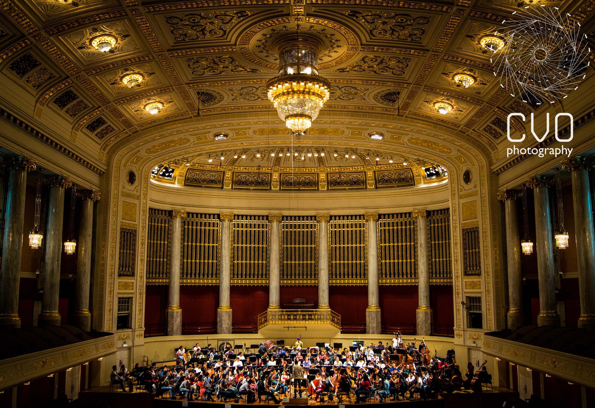 Vienna Konzerthaus by Carlos Vargas