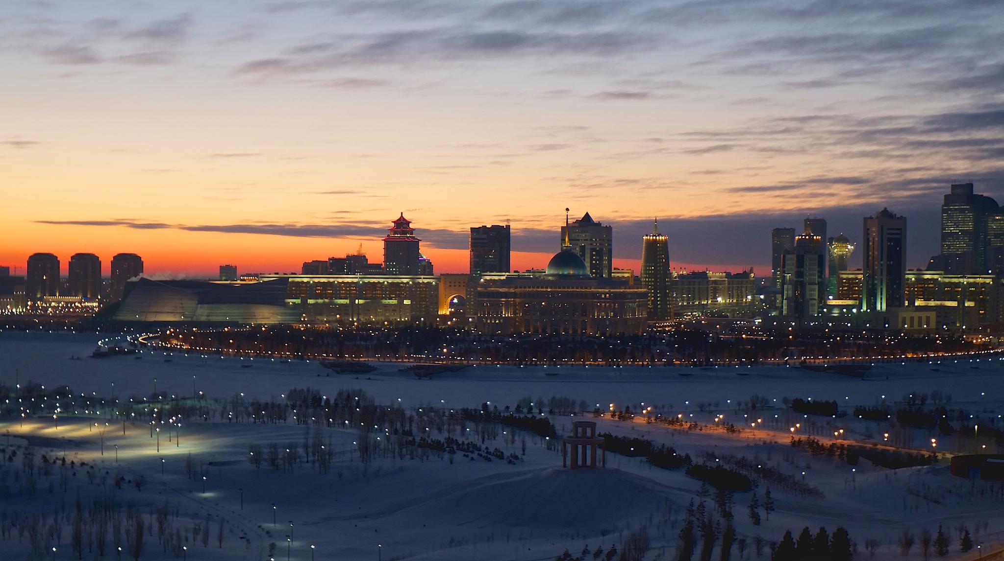 Astana twilight by alexandre duarte