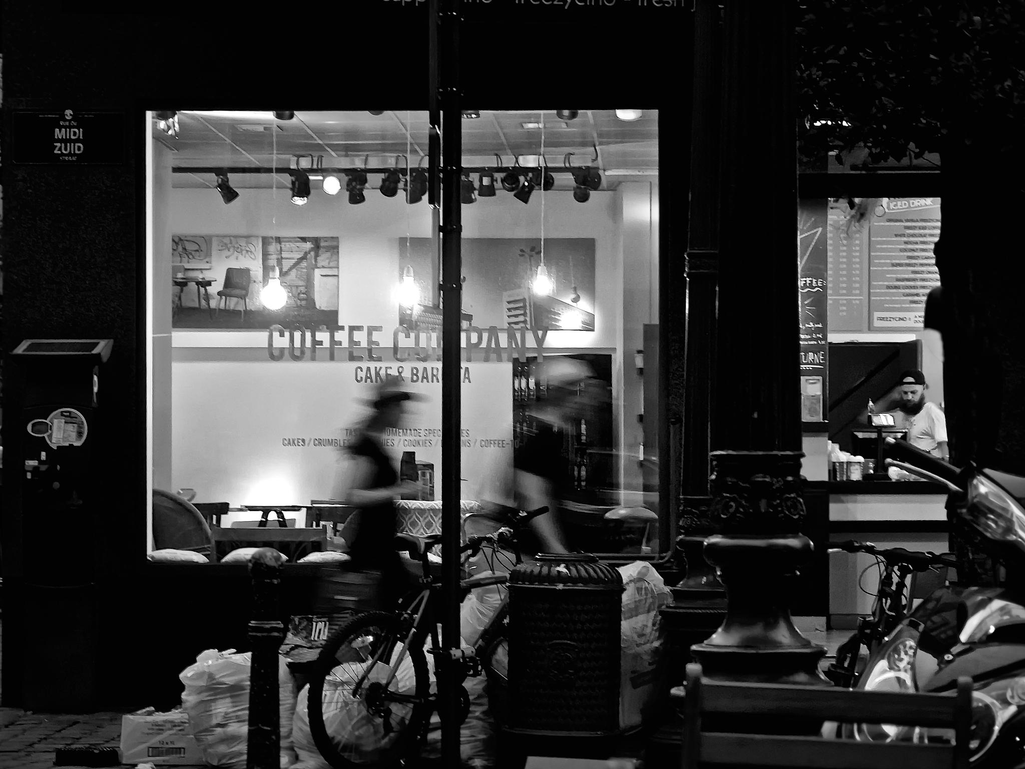 Photo in Black and White #black and white #longexposure #fineart #nightphotography #streetphotography