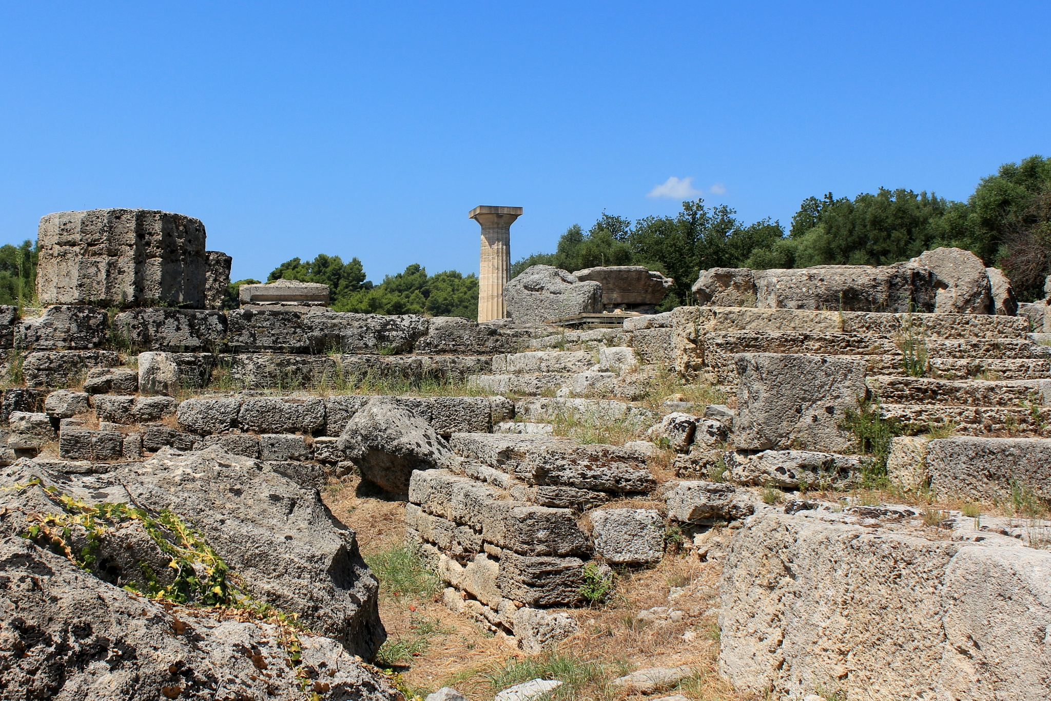 archaeological site of Olympia (II), Greece by katze