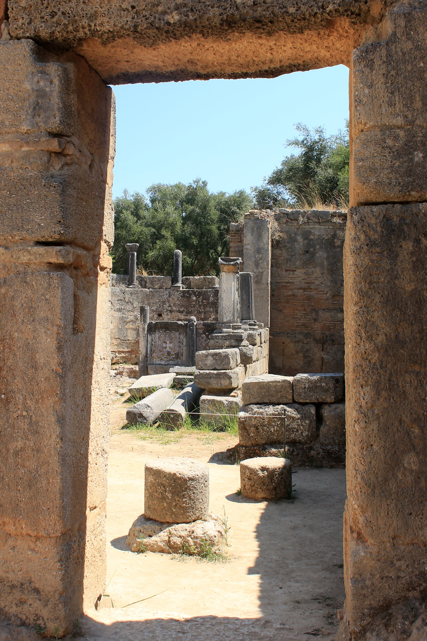 archaeological site of Olympia (VI), Greece by katze