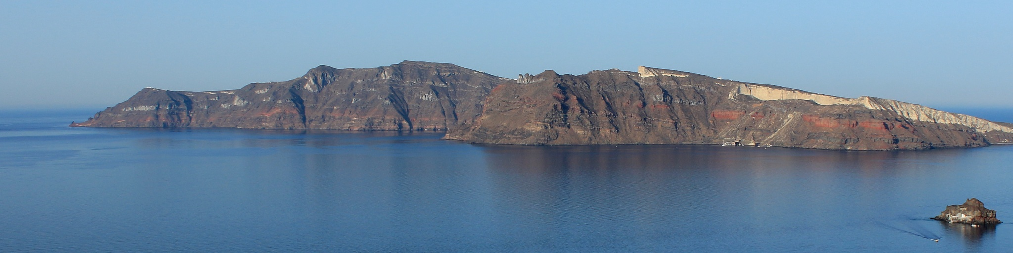 view from Oia, Santorini by katze