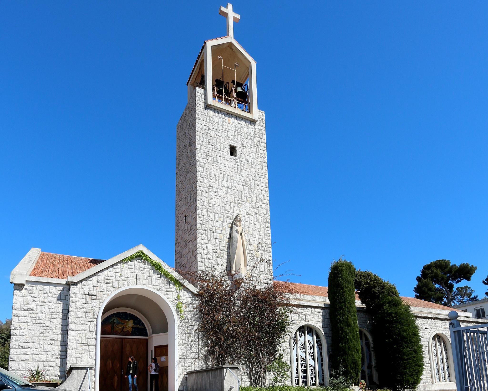 église, col de Villefranche by katze