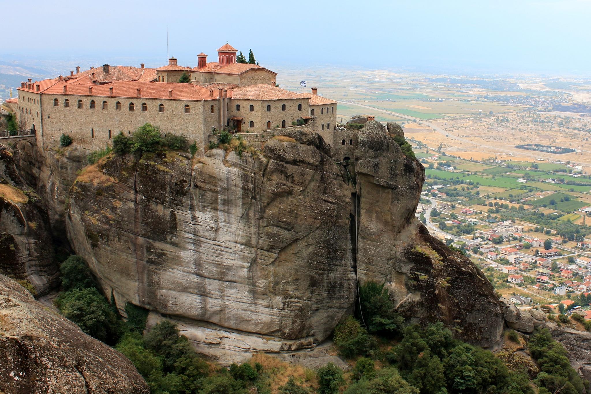 Monastery Meteor, Greece by katze